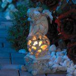 Décoration de jardin ''Ange Rêveur'' de la marque Lunartec image 1 produit