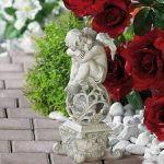 Décoration de jardin ''Ange Rêveur'' de la marque Lunartec image 2 produit
