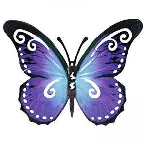 Décoration murale - papillon 24cm - Sculpture murale en métal pour le jardin ou dans la maison de la marque LifeStyle-Kreativ image 0 produit