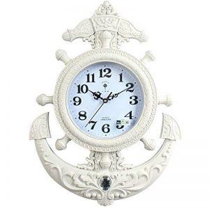 de style européen création salon, chambre, silence, simple horloge,b de la marque wpw-wall clock image 0 produit
