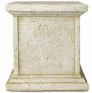 Deco Granit Socle façonné pour statue en pierre reconstituée de la marque Deco Granit image 0 produit