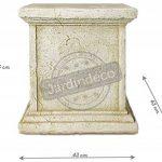 Deco Granit Socle façonné pour statue en pierre reconstituée de la marque Deco Granit image 2 produit