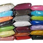 Deco Made en Italy 1kg Sable naturel colorée, couleurs brillantes, créatifs, hypoallergéniques, 0,5mm emballée en sachet–Sable Couleur Nature Beige de la marque Deco Made in Italy image 1 produit