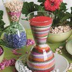 Deco Made en Italy sable naturel colorée, couleurs brillantes, créatifs, hypoallergéniques, 0, 5mm emballée en pot de 550ml–750gr de la marque Deco Made in Italy image 2 produit