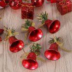 Deco Sapin de Noel Tinksky 28 Pieces Merry Christmas Étoiles Boules de Noël Cloches de Noël Père Noël Suspension Noel Rouge de la marque Tinksky image 1 produit