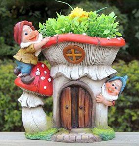 Décoration figurines de nain de jardin design XL avec pot de fleurs 91187Nain–227cm de haut de la marque Unbekannt image 0 produit