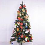 Décorations de Noël XingYu-XY Pendentif en sapin de Noël, Pendentifs cadeaux [6PCS] (13cm/5inch, Rouge + Blanc) de la marque XingYu-XY image 3 produit