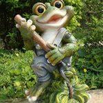 Design 3figurines de 29cm de hauteur 11151–3Déco Jardin Nain de jardin grenouille décoration de la marque GMMH image 1 produit