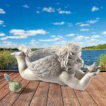 Design Toscano Chérubin Statue de l'ange messager de Dieu et son oiseau de la marque Design Toscano image 4 produit