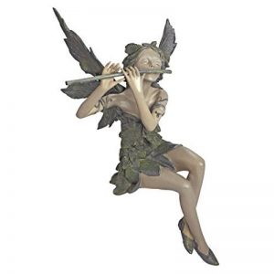 Design Toscano CL5276 Sculpture de Fée de Vent d'Ouest Assise Résine de la marque Design Toscano image 0 produit