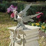 Design Toscano CL5276 Sculpture de Fée de Vent d'Ouest Assise Résine de la marque Design Toscano image 4 produit