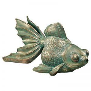 Design Toscano EU533068 Statue d'Etang Poisson Koi pour Bassin Résine de la marque Design Toscano image 0 produit
