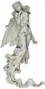 Design Toscano EU5604 Sculpture Murale Brianna la Fée du Vent d'Eté, Blanc Cassé, 7.5 x 28 x 57 cm de la marque Design Toscano image 0 produit