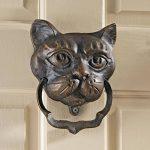 Design Toscano heurtoir chat noir en fer de la marque Design Toscano image 1 produit