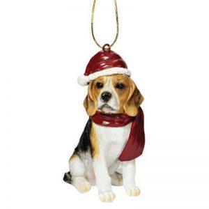 Design Toscano JH576327 Décorations de Noël - Décorations de Noël Beagle de vacances pour chiens de la marque Design Toscano image 0 produit