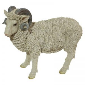 Design Toscano JQ6171 Statue de Horned Dorset Moutons Résine de la marque Design Toscano image 0 produit