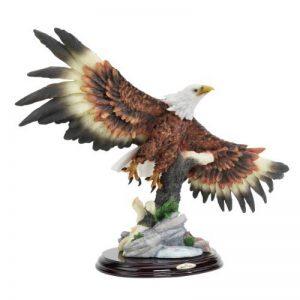 Design Toscano KY10123 Statue d'aigle chauve aux ailes déployées Multicolore 15 x 40,5 x 32 cm de la marque Design Toscano image 0 produit
