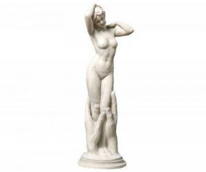 Design Toscano KY1379 Sculpture de Vénus contemporaine Blanc Cassé 24 x 25,5 x 78,5 cm de la marque Design Toscano image 0 produit