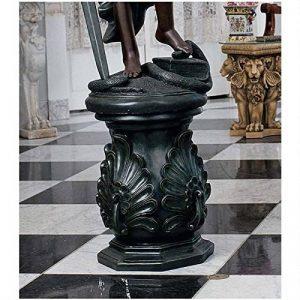 Design Toscano KY66121 Contremarche classique du paon Statue Vert 35,5 x 35,5 x 48,5 cm de la marque Design Toscano image 0 produit