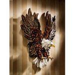 Design Toscano KY7870 Aigle en plein vol symbole de liberté Sculpture murale Multicolore 11,5 x 30,5 x 38 cm de la marque Design Toscano image 1 produit