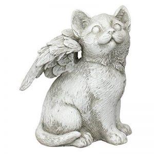 Design Toscano LY7154051 Ami Fidèle Statuette pour Mémorial de Chat, Blanc Cassé, 9 x 11.5 x 14 cm de la marque Design Toscano image 0 produit