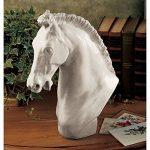 Design Toscano NG32787 Sculpture du Cheval de Turin Blanc Cassé 24 x 12,5 x 30,5 cm de la marque Design Toscano image 1 produit