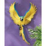 Design Toscano QL129918 Sculpture murale de Phineas l'Ara battant des ailes Multicolore 9 x 25,5 x 40,5 cm de la marque Design Toscano image 1 produit
