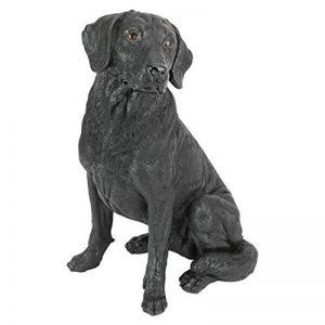 Design Toscano QL156176 Statue de Chien Labrador Retriever Résine Noir de la marque Design Toscano image 0 produit