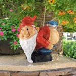 Design Toscano QM22997 Design Toscano Loonie Moonie nu Fesses Garden Gnome Statue: Moyen de la marque Design Toscano image 5 produit