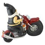 Design Toscano QM7512103 Jardin Statue de Gnome - Axle Grease Biker Gnome - Statues Gnome sauvage - Gnome Statue sur la moto de la marque Design Toscano image 2 produit
