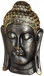 Design Toscano QS28511 Sculpture Murale Asiatique Bodh Gaya, Bronze, 6.5 x 19 x 32 cm de la marque Design Toscano image 0 produit