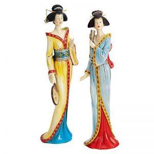 Design Toscano S/2japonais Geisha Fan Dancer Statues de la marque Design Toscano image 0 produit