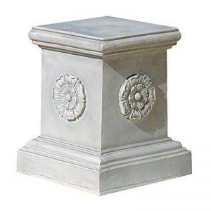 Design Toscano Socle sculptural rosette anglaise - Grand de la marque Design Toscano image 0 produit