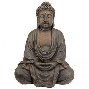 Design Toscano Statue de jardin de taille moyenne du Bouddha méditatif du grand temple de la marque Design Toscano image 0 produit