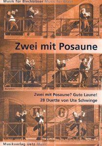 Deux Bonne Humeur avec Trombone?. 28DUETTE pour Trombone Partition (Jeu) de la marque Bruno Uetz Musikverlag image 0 produit