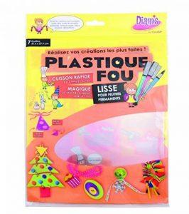 Diam's DI42261 Pack de 7 Feuilles Plastique Fou Cristal 29,7 x 21,6 x 0,1 cm de la marque Diam's image 0 produit
