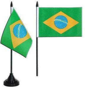 Digni® Drapeau de table Brésil, mini drapeau - 10 x 15 cm de la marque Digni® image 0 produit