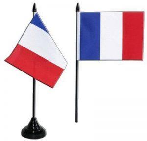 Digni® Drapeau de table France, mini drapeau - 10 x 15 cm de la marque Digni image 0 produit