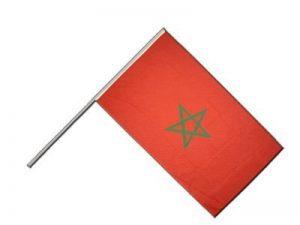 Digni Drapeau Maroc sur hampe - 60 x 90 cm de la marque Digni image 0 produit