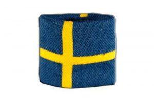 Digni Poignet éponge avec drapeau Suède - Pack de 2 pièces de la marque Digni image 0 produit