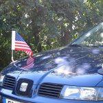 DIPLOMAT-FLAGS Porte-drapeau de voiture Diplomat-1 États-unis à adhésion magnétique de la marque DIPLOMAT-FLAGS image 4 produit