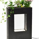 Dobar Grande Fontaine de jardin avec pompe et LED en polyrésine 54.5 x 19 x 76 cm grau-schwarz (steingrau) de la marque dobar image 4 produit