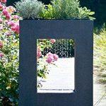 Dobar Grande Fontaine de jardin avec pompe et LED en polyrésine 54.5 x 19 x 76 cm grau-schwarz (steingrau) de la marque dobar image 1 produit