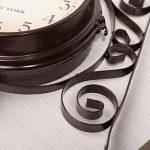 Double Face Horloges - Ailiebhaus Station de Jardin Horloge Murale Extérieure Horloge Style de Antique Européen de la marque Ailiebhaus image 2 produit