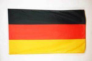 DRAPEAU ALLEMAGNE 250x150cm Polyester léger - GRAND DRAPEAU ALLEMAND 150 x 250 cm - AZ FLAG de la marque AZ FLAG image 0 produit