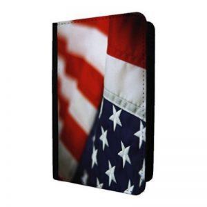 Drapeau américain Motif imprimé Coque passeport Motif–P1228 de la marque Accessories4Life image 0 produit