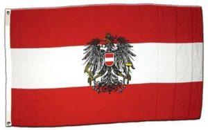Drapeau Autriche avec aigle - 60 x 90 cm de la marque Digni image 0 produit
