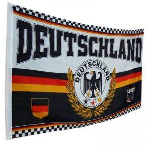 Drapeau aux couleurs de l'Allemagne, avec motif aigle, 150 x 90 cm de la marque Unbekannt image 0 produit