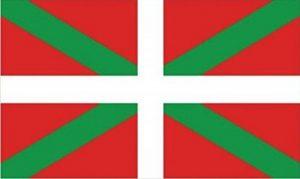 Drapeau Basque-Pays Basque 3 m x 2 m Moyen - 100% Polyester-oeillets métal-cousus Double de la marque Perfectflags image 0 produit