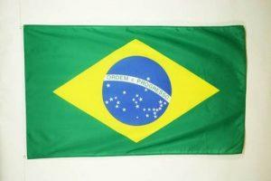 DRAPEAU BRÉSIL 150x90cm - DRAPEAU BRÉSILIEN 90 x 150 cm Polyester léger - AZ FLAG de la marque AZ FLAG image 0 produit